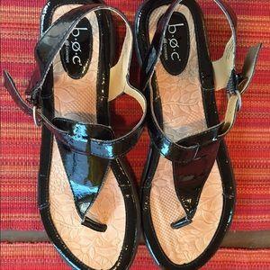 BOC - Born Concept Black Patent Sandals